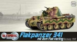 Flakpanzer 341 mit 2cm Flakvierling - ready model Dragon