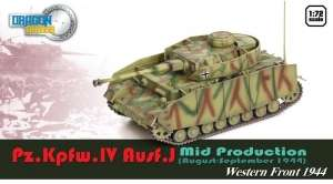 Pz.Kpfw.IV Ausf. J Western Front 1944 - ready model 1-72