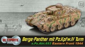 Berge-Panther mit Pz.Kpfw.IV Turm ready model Dragon in 1-72