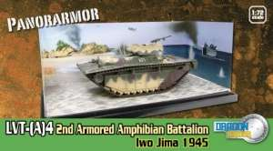 LVT-(A)4 Iwo Jima 1945 - ready model 1-72