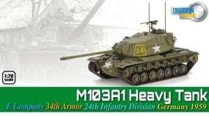 M103A1 Heavy Tank Germany 1959 - ready model 1-72
