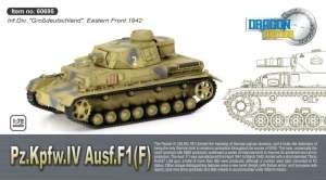 Pz.Kpfw.IV Ausf.F1(F) ready model Dragon 60695 in 1-72