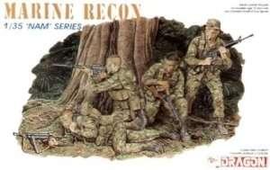 Marine Recon in scale 1-35 - Dragon 3313