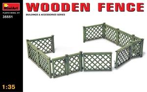 MiniArt 35551 Wooden Fence