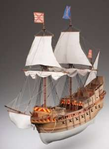 D018 San Martin wooden ship model kit