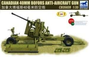 Canadian 40mm Bofors Anti-Aircraft Gun 1:35