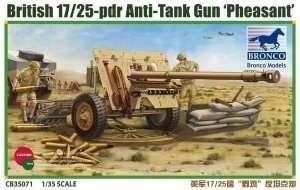 British 17/25pdr Anti-Tank Gun Pheasant 1:35