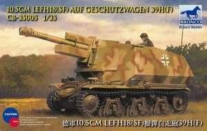 10.5cm leFH18(Sf) auf Geschutzwagen 39H(f) 1:35