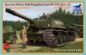 Soviet Heavy Self-propelled Gun SU-152 1:35