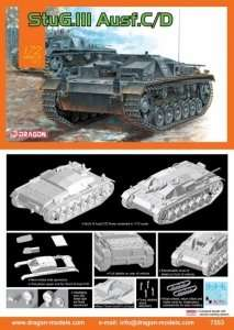 German StuG.III Ausf.C/D in scale 1-72