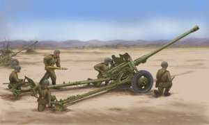 Model Soviet 85mm D-44 Divisional Gun scale 1:35