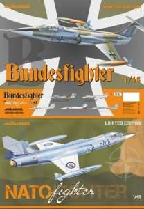 Bundesfighter / NATOfighter in scale 1-48 - limited edition