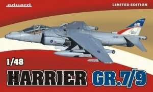 British fighter Harrier GR.7/9 Eduard 1166
