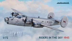 Raiders in the Sky 1945 model Eduard 2123 in 1-72