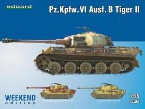 Tank model Tiger II Eduard 3741