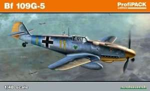 Fighter Messerschmitt Bf 109G-5 in scale 1-48 Eduard 82112