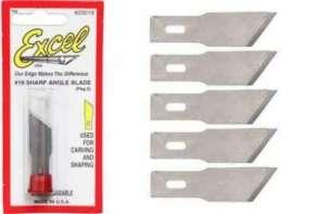 Sharp Angle Blade 5pcs - Excel 20019