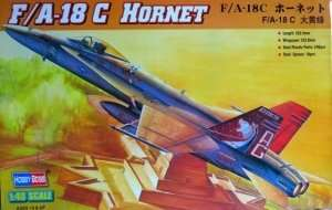 Hobby Boss 80321- F/A-18C Hornet in scale 1-48