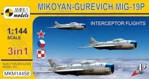 Mark Models MKM14458 Fighter Mikoyan-Gurevich MiG-19P in scale 1-144