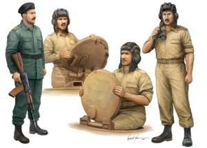Iraqi Tank Crew in scale 1-35