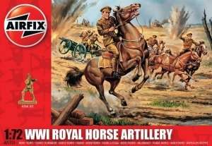 WWI Royal Horse Artillery scale 1:72
