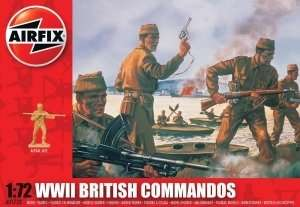 WWII British Commandos scale 1:72