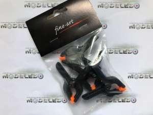 Model clamps 6.5 cm 4 pcs Fine Art FA-556
