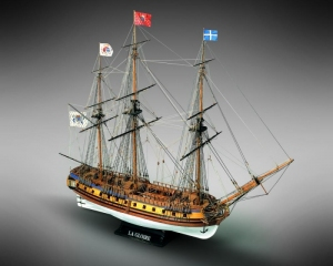 Frigate La Gloire - Mamoli MV34- wooden ship model kit