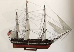 Wooden Model Ship Kit - USS Constitution 1/100 - BB508
