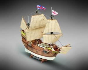 Galleon Mayflower - Mamoli MV49- wooden ship model kit