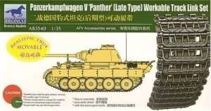 Panzerkampfwagen V Panther Workable Track Link Set 1:35