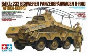German 8-Wheeled Heavy Armored Car Sd.Kfz.232. Africa-Corps