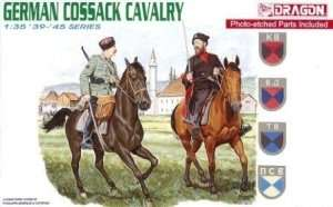 German Cossak Cavalry figures Dragon in 1-35