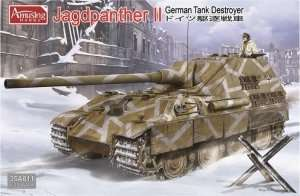 Amusing 35A011 German Tank Destroyer Jagdpanther II in scale 1-35