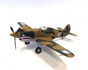 Model Flying Tiger (A.V.G) P-40C Tomahawk Bronco 48BK004