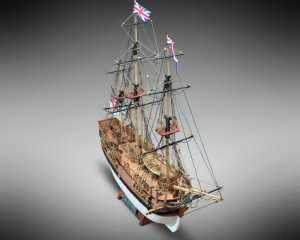 HMS Bounty - Mamoli MV52 - wooden ship model kit