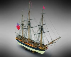 HMS Surprise - Mamoli MV58 - wooden ship model kit