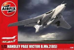Handley Page Victor B.Mk.2 strategic bomber in scale 1-72 Airfix A12008