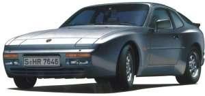 Porsche 944 turbo in scale 1-24 Hasegawa 20260