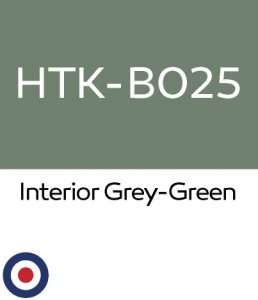Hataka B025 Interior Grey-Green - acrylic paint 10ml