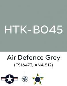 Hataka B045 Air defense grey - acrylic paint 10ml