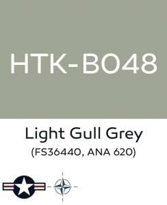 Hataka B048 Light gull grey - acrylic paint 10ml