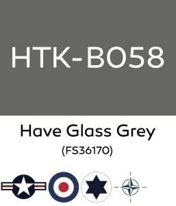 Hataka B058 Have Glass Grey - acrylic paint 10ml