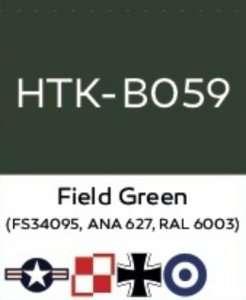 Hataka B059 Field Green - acrylic paint 10ml