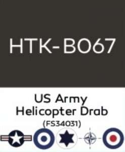 Hataka B067 US Army Helicopter Drab - acrylic paint 10ml