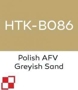 Hataka B086 Polish AFV Greyish Sand - acrylic paint 10ml
