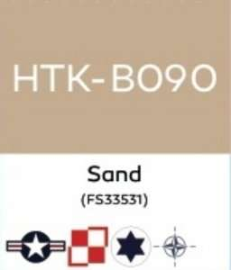 Hataka B090 Sand - acrylic paint 10ml