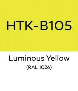 Hataka B105 Luminous Yellow - acrylic paint 10ml