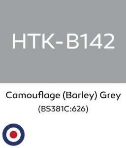 Hataka B142 Camouflage Barley Grey - acrylic paint 10ml