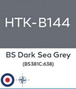 Hatakaa B144 BS Dark Sea Grey - acrylic paint 10ml